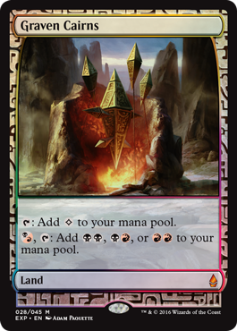 Graven Cairns (Masterpiece Foil)