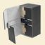 Ultimate Guard Flip Deck Case TWIN FLIPnTRAY Xenoskin 200+ - Black
