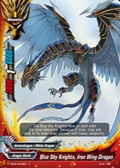 Blue Sky Knights, Iron Wing Dragon - EB02/0033 - C - Foil