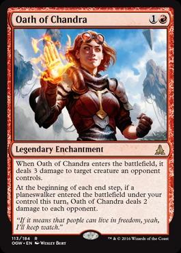 Oath of Chandra - Foil