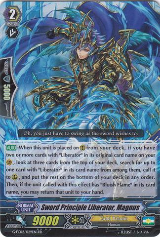 Sword Principle Liberator, Magnus - G-FC02/029EN - RR