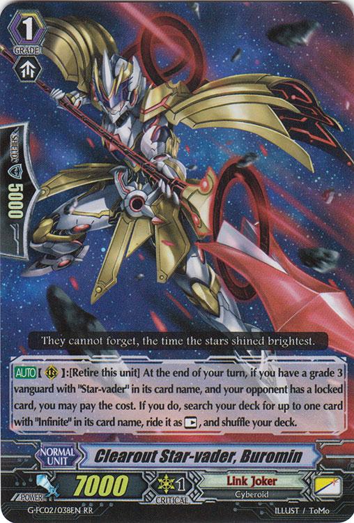 Clearout Star-vader, Buromin - G-FC02/038EN - RR