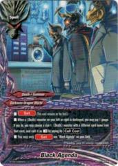Black Agenda - BT05/0084 - U - Foil