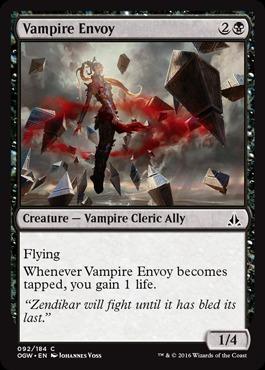 Vampire Envoy - Foil