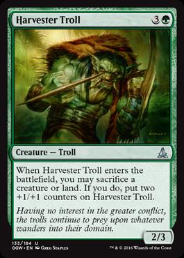 Harvester Troll - Foil