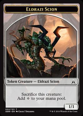 Eldrazi Scion Token (002)