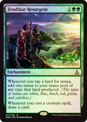 Zendikar Resurgent - Oath of the Gatewatch  Prerelease Promo