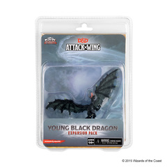 Attack Wing: Dungeons and Dragons - Young Black Dragon Expansion Pack