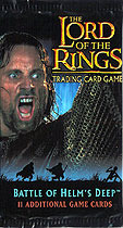 Lord of The Rings Battle of Helm's Deep Cards Booster Pack