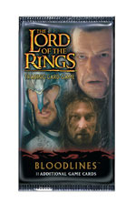 Lord of the Rings Cards Bloodlines Booster Pack