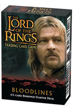 Lord of the Rings Cards Bloodlines Boromir Starter Deck