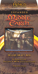 Lord of the Rings Trading Card Game TCG: ELROHIR Expanded Middle Earth Deluxe Draft Box