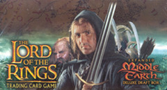 Lord of the Rings Trading Card Game TCG: Expanded Middle Earth Deluxe Draft Display Box