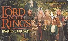 Lord of the Rings Cards Fellowship of the Ring Booster Box