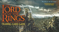 Realms of the Elf Lords Starter Box Lord of the Rings Cards