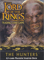 Lord of the Rings CCG The Hunters Mauhur Starter Deck
