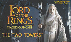 Lord of the Rings Cards The Two Towers Booster Box
