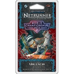 2015 Android: Netrunner LCG World Champion Runner Deck