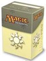 Magic the Gathering Ultra Pro White Mana Deck Box