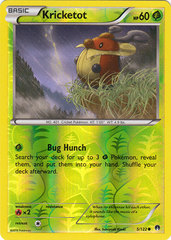 Kricketot - 5/122 - Common - Reverse Holo