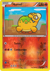 Numel - 12/122 - Common - Reverse Holo