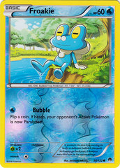 Froakie - 38/122 - Common - Reverse Holo