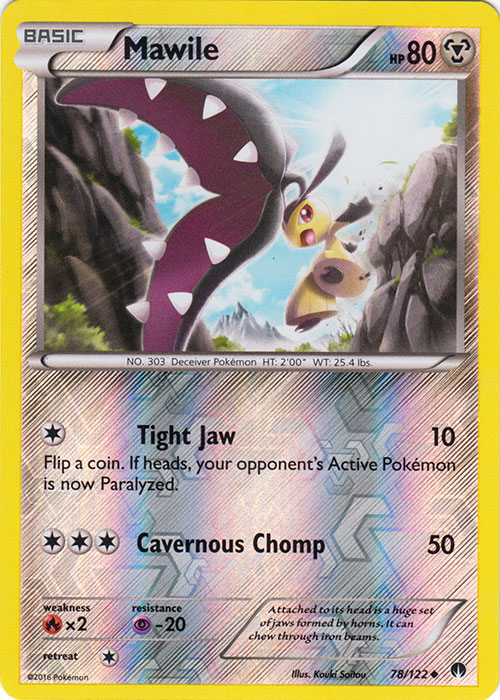 POKEMON XY BREAK-POINT CARD ELECTIVIRE 43//122