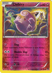 Clefairy - 81/122 - Common - Reverse Holo on Channel Fireball
