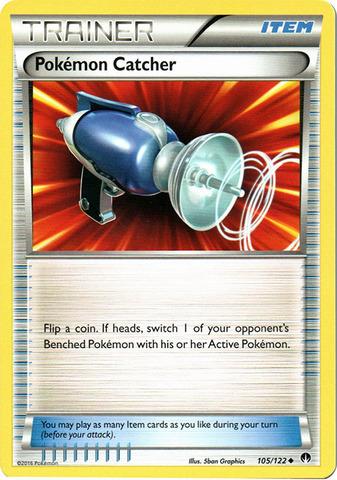 Pokemon Catcher - 105/122 - Uncommon