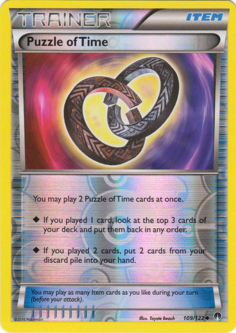 Puzzle of Time - 109/122 - Uncommon - Reverse Holo