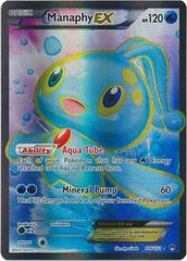 Manaphy-EX - 116/122 - Full Art Ultra Rare