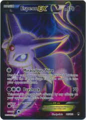 Espeon-EX - 117/122 - Full Art Ultra Rare