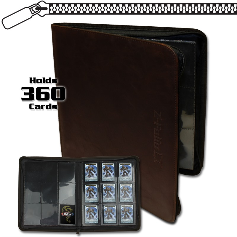 BCW Pro-Folio 9-Pocket LT - Brown