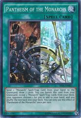 Pantheism of the Monarchs - SR01-EN023 - Super Rare - Unlimited Edition
