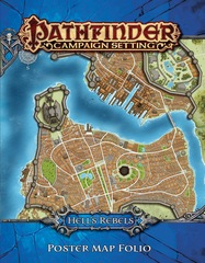 Pathfinder Campaign Setting: Hell's Rebels Poster Map Folio