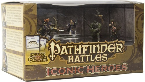 Pathfinder Battles: Iconic Heroes Set #5