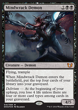 Mindwrack Demon - Foil