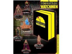 DC Heroclix Watchmen Deluxe Collectors Set Includes 25 Figures