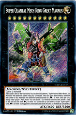 Super Quantal Mech King Great Magnus - WIRA-EN037 - Secret Rare - 1st Edition