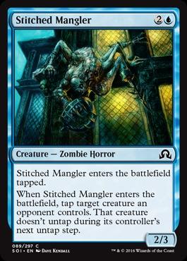 Stitched Mangler  - Foil