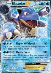 Blastoise-EX - 17/83 - Holo Rare ex on Channel Fireball