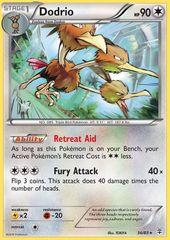 Dodrio - 56/83 - Rare on Channel Fireball