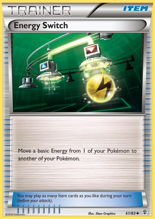 Energy Switch - 61/83 - Uncommon