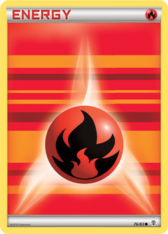 Fire Energy - 76/83 - Common