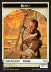 Human Token on Channel Fireball