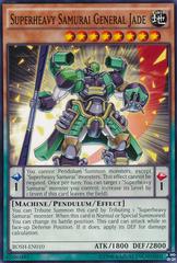 Superheavy Samurai General Jade - BOSH-EN010 - Common - Unlimited Edition