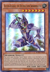 Buster Blader, the Destruction Swordmaster - BOSH-EN018 - Ultra Rare - Unlimited Edition