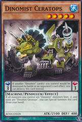 Dinomist Ceratops - BOSH-EN028 - Common - Unlimited Edition