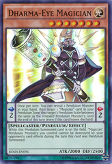 Dharma-Eye Magician - BOSH-EN096 - Super Rare - Unlimited Edition