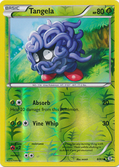 Tangela - 8/83 - Common - Reverse Holo